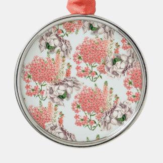 Flower, hortensias pink gardenias details celestia christmas tree ornaments