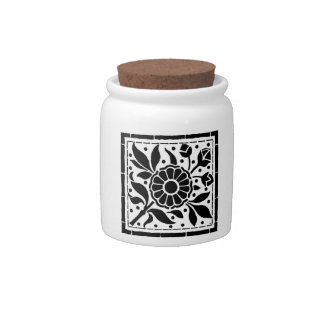 flower-III Candy Jar