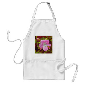 Flower Image manipulated for artistic effect (3).J Adult Apron