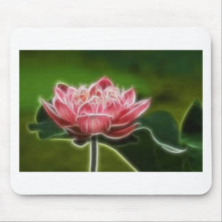 Flower Image Mouse Pad