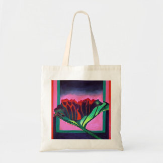"""""""Flower in a Spectral Setting"""" canvas bag"""