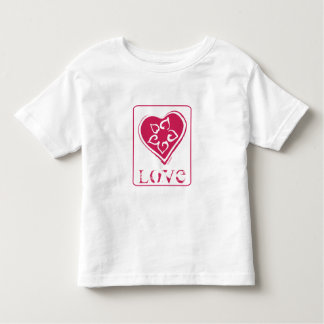 Flower in Heart -Toddler Toddler T-shirt