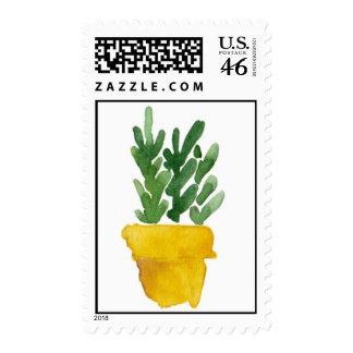 Flower in pot postage