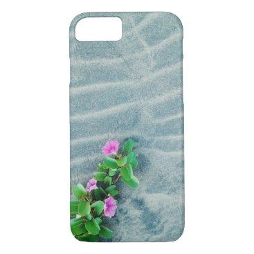 Beach Themed Flower In the Desert iPhone 7 Case