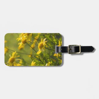 flower in the garden luggage tag