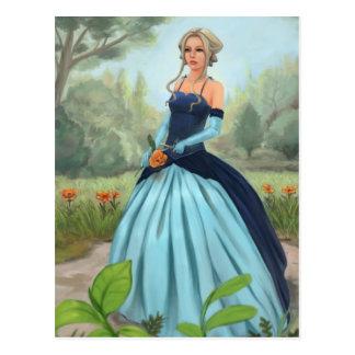 """""""Flower in the garden"""" Postcard"""