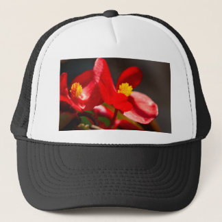 flower in the garden trucker hat