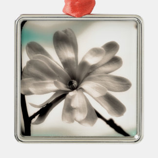 Flower in the Sky Metal Ornament