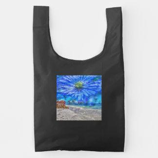 flower in the sky (U) Reusable Bag