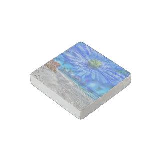 flower in the sky (U) Stone Magnet