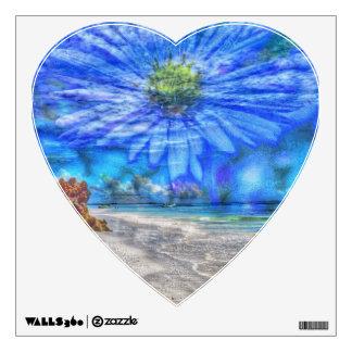 flower in the sky (U) Wall Sticker