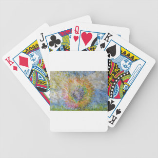 Flower in the Sun Bicycle Playing Cards