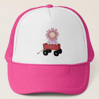 Flower in Wagon Trucker Hat