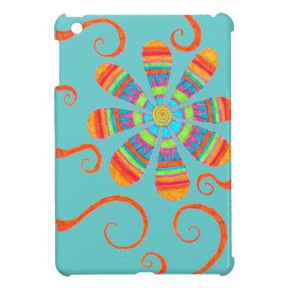 Flower iPad Mini Case (Blue)