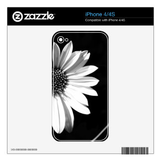 flower iPhone 4 decal