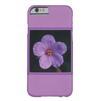 Flower iPhone 6 case with purple blossom