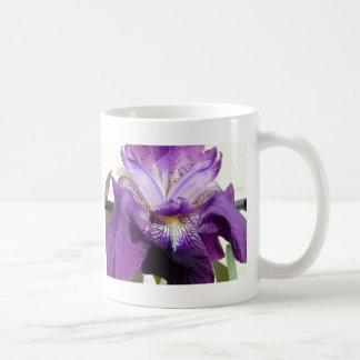flower, iris purple coffee mug