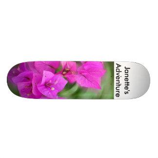 Flower, Janette's Adventure Skateboard