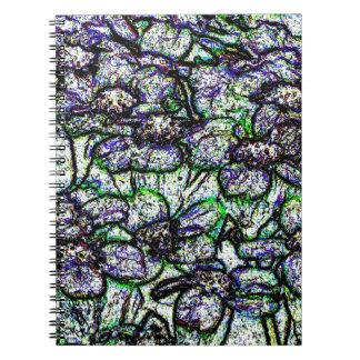 Flower Jewels Notebook