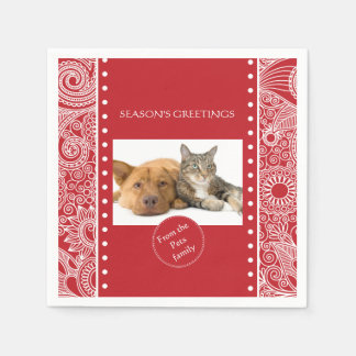 Flower Jungle Christmas set - Stationery and Gifts Paper Napkins