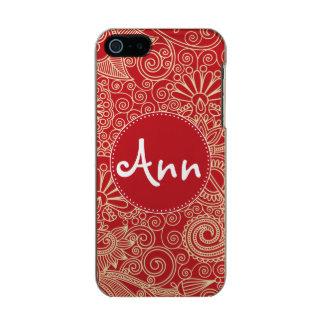 Flower Jungle Red Incipio Feather® Shine iPhone 5 Case