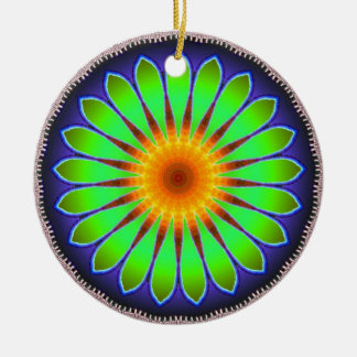 Flower kaleidoscope 2 Ornament