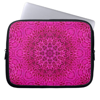 Flower Kaleidoscope  Neoprene Laptop Sleeves