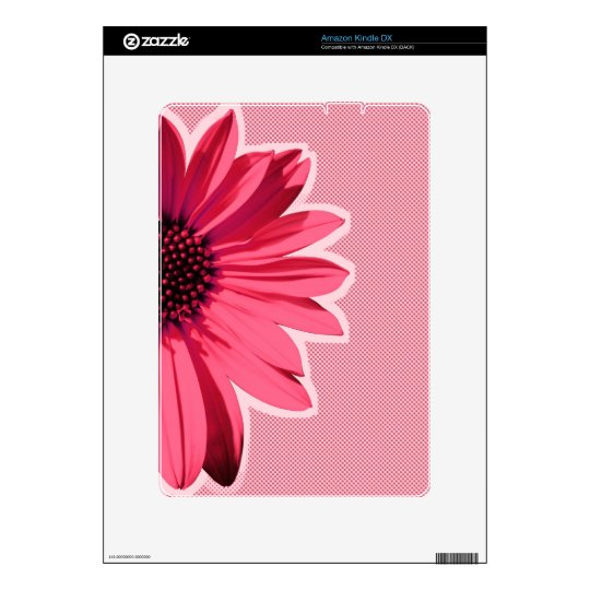 flower kindle decal