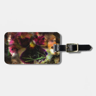 flower kittens tags for luggage