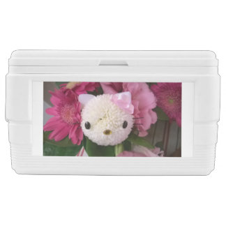 Flower Kitty Chest Cooler