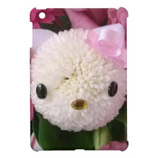 Flower Kitty iPad Mini Cover