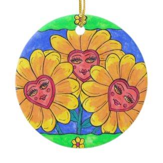 Flower Ladies Ornament ornament