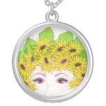Flower Lady Necklace