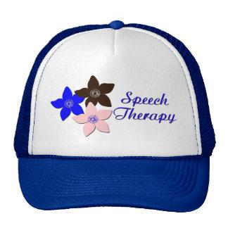 flower large pink trucker hat