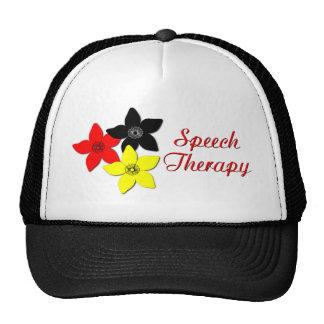 flower large trucker hat