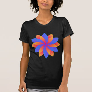 Flower leaf logo design T-Shirt