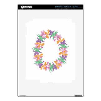 Flower Lei iPad 3 Decal