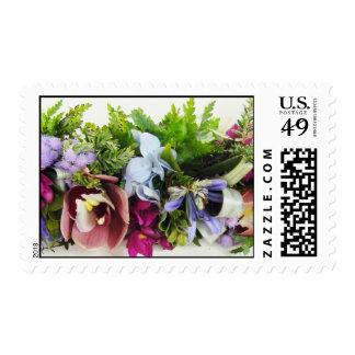 Flower Lei Postage Stamp