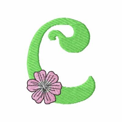 Flower Letter C