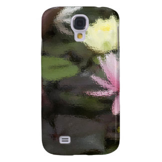 Flower Lillies Galaxy S4 Case