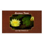 Flower - Lily - Morning showers Business Card Template