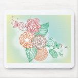 flower-line-drawings.jpg tapetes de ratones