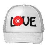 Flower Love Hats