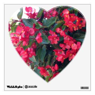 Flower Love Wall Decal