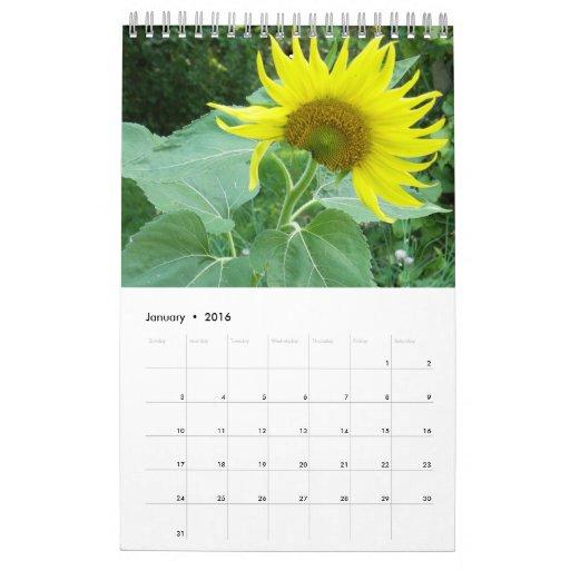 Flower Lovers Photo Calendar 2012