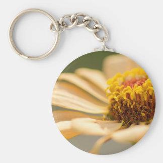 Flower macro keychain