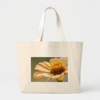 Flower macro large tote bag