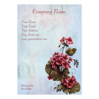 Flower Magic 2012 Pocket Calendar Business Card