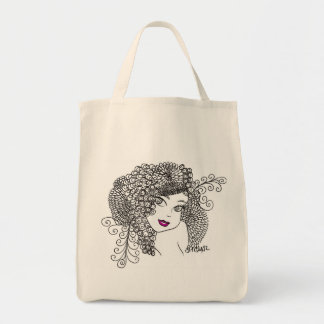 Flower Maiden Tote Bag