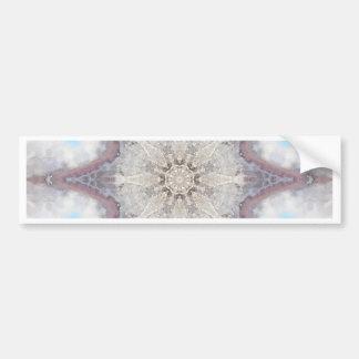 Flower Mandala 21 Bumper Sticker